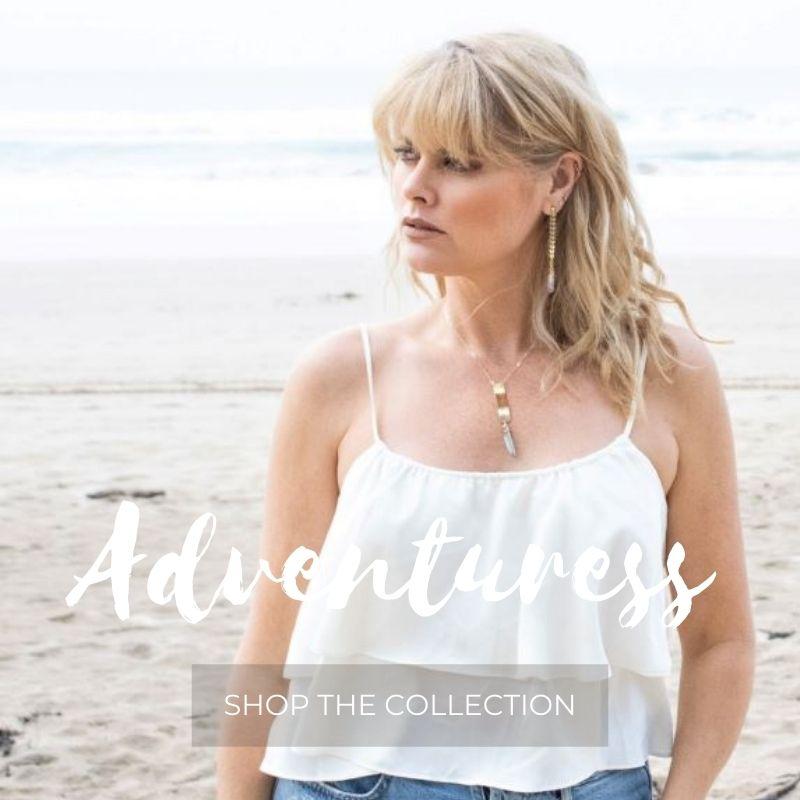 Boho lux jewellery collection