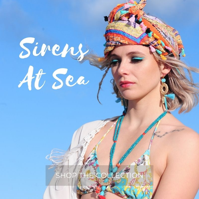 Boho style jewellery collection - Sirens At Sea