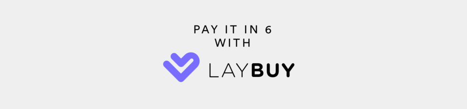 Pay it in 6 with Laybuy
